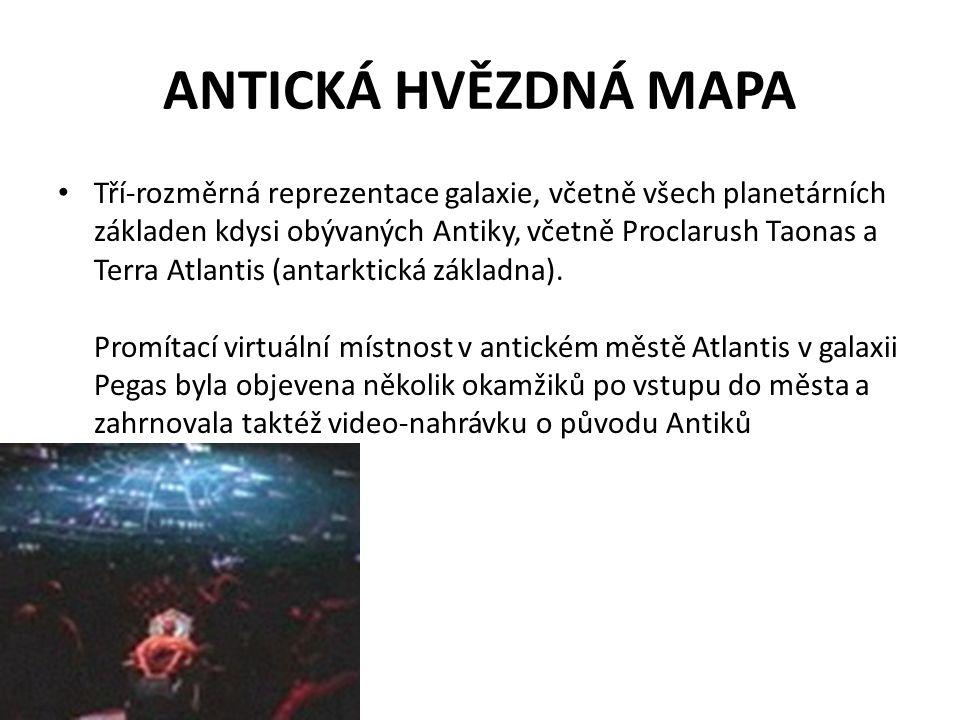 ANTICKÁ HVĚZDNÁ MAPA