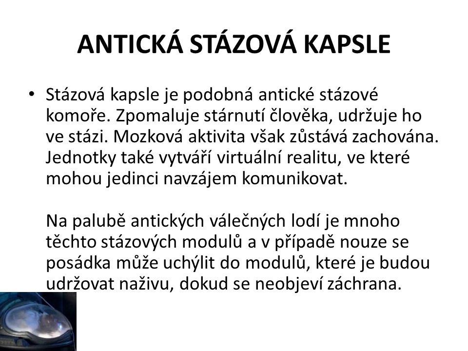 ANTICKÁ STÁZOVÁ KAPSLE