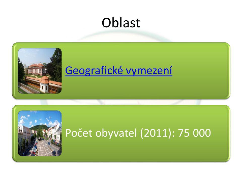 Oblast Geografické vymezení Počet obyvatel (2011): 75 000