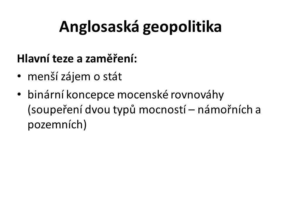Anglosaská geopolitika