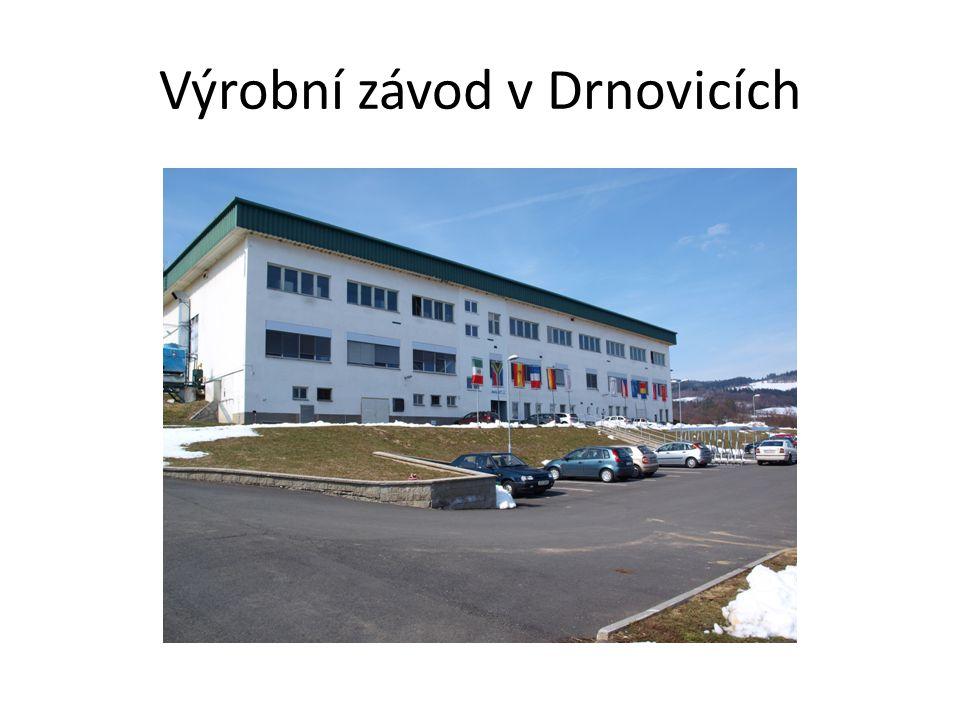 Výrobní závod v Drnovicích