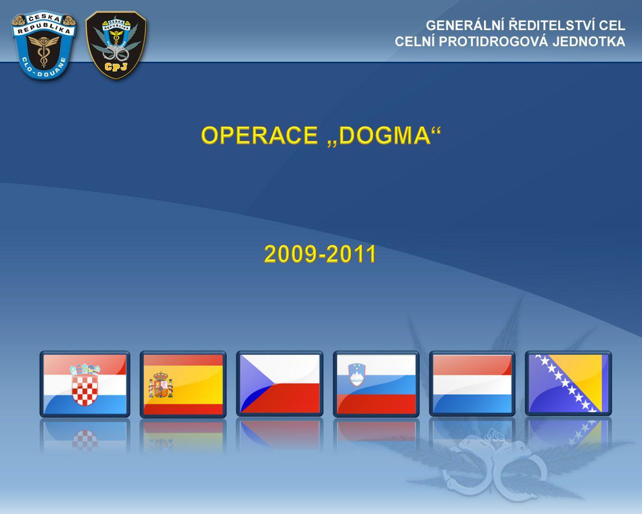 "OPERACE ""DOGMA 2009-2011"