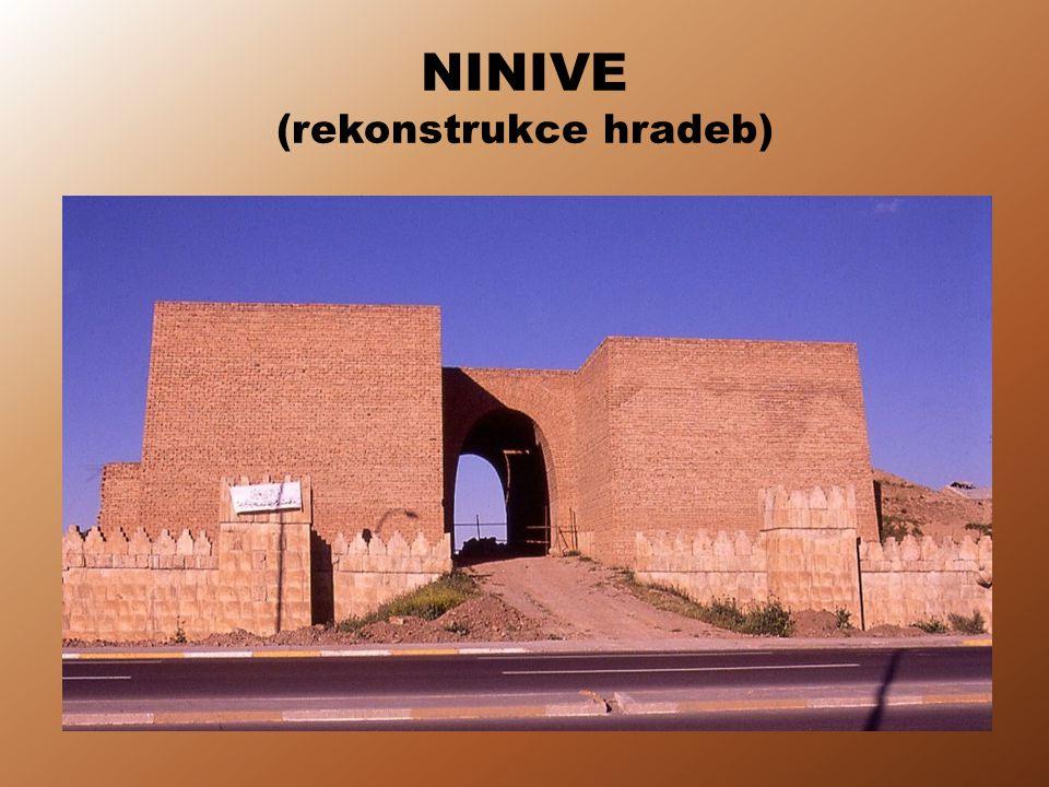 NINIVE (rekonstrukce hradeb)