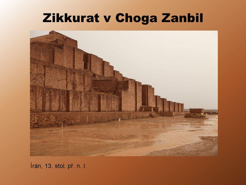 Zikkurat v Choga Zanbil