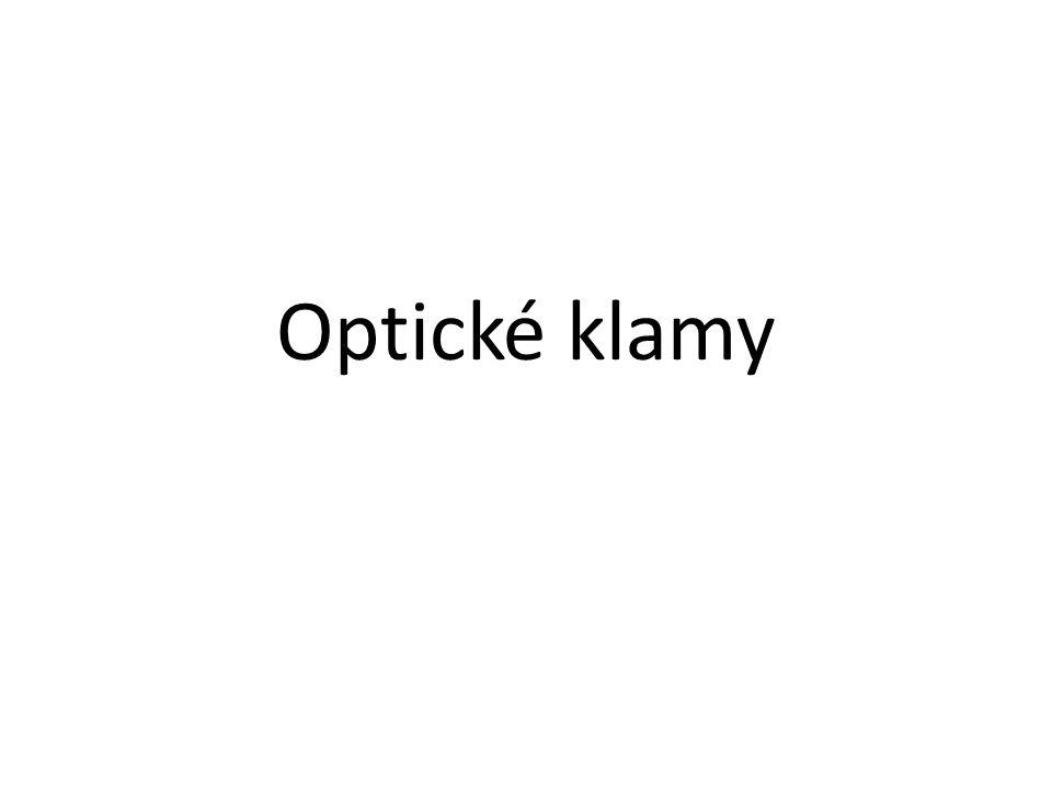 Optické klamy