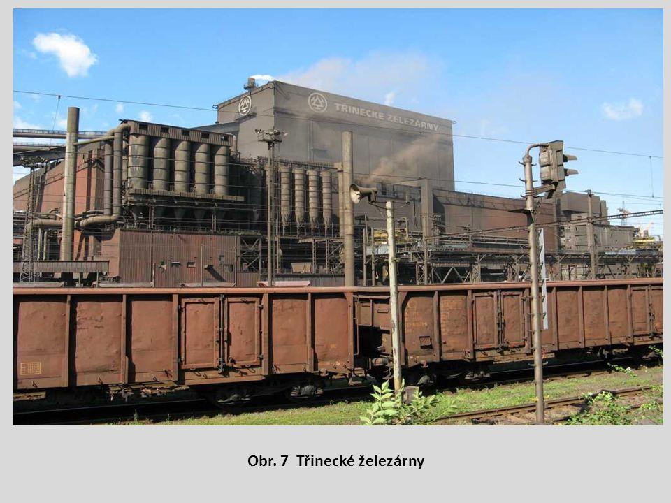 Obr. 7 Třinecké železárny