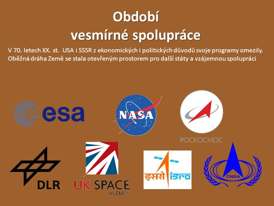 Období vesmírné spolupráce