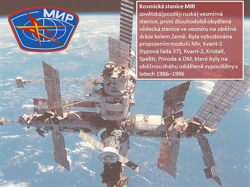 Kosmická stanice MIR