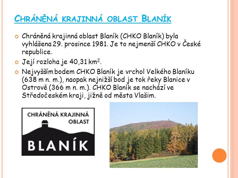 Chráněná krajinná oblast Blaník