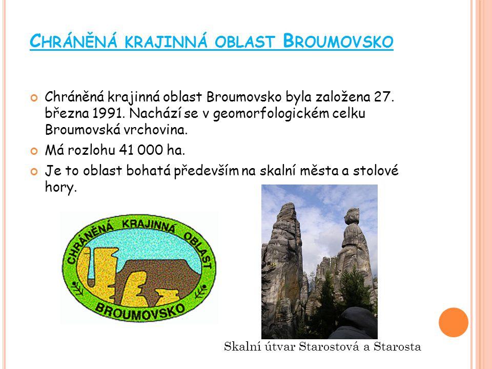 Chráněná krajinná oblast Broumovsko