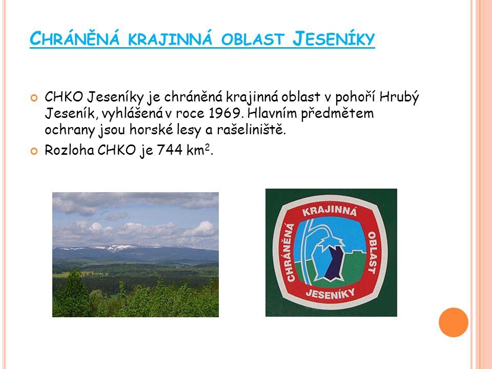 Chráněná krajinná oblast Jeseníky