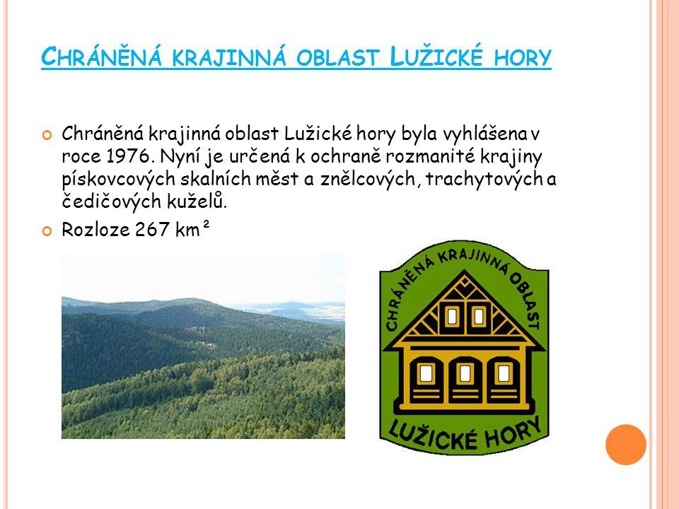 Chráněná krajinná oblast Lužické hory