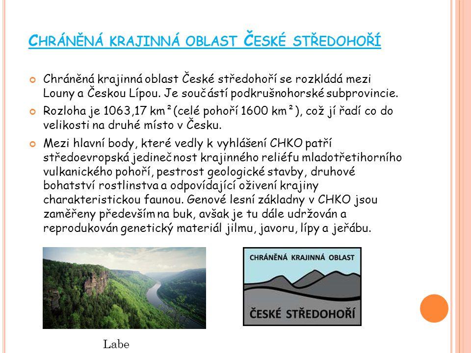 Chráněná krajinná oblast České středohoří