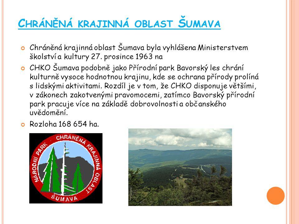 Chráněná krajinná oblast Šumava