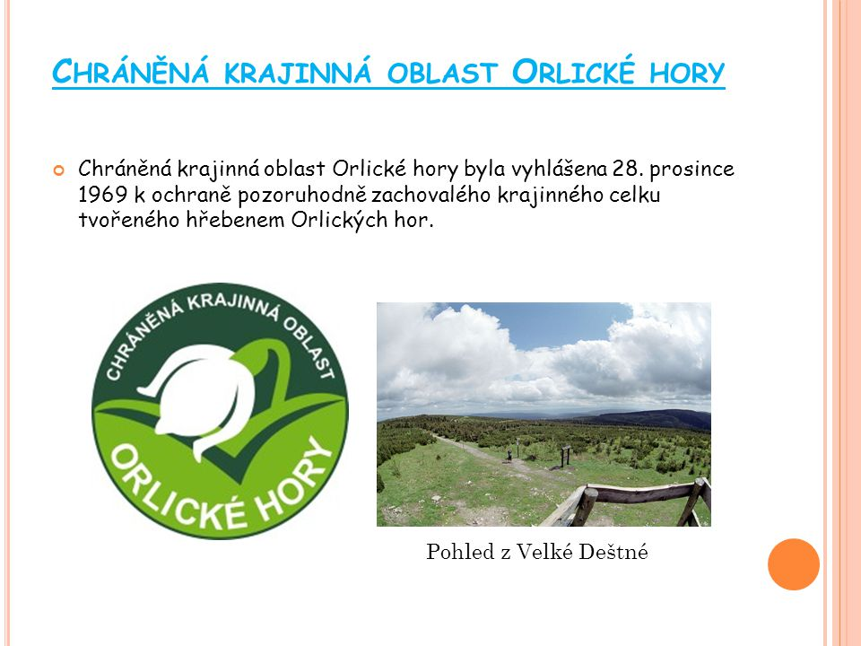 Chráněná krajinná oblast Orlické hory