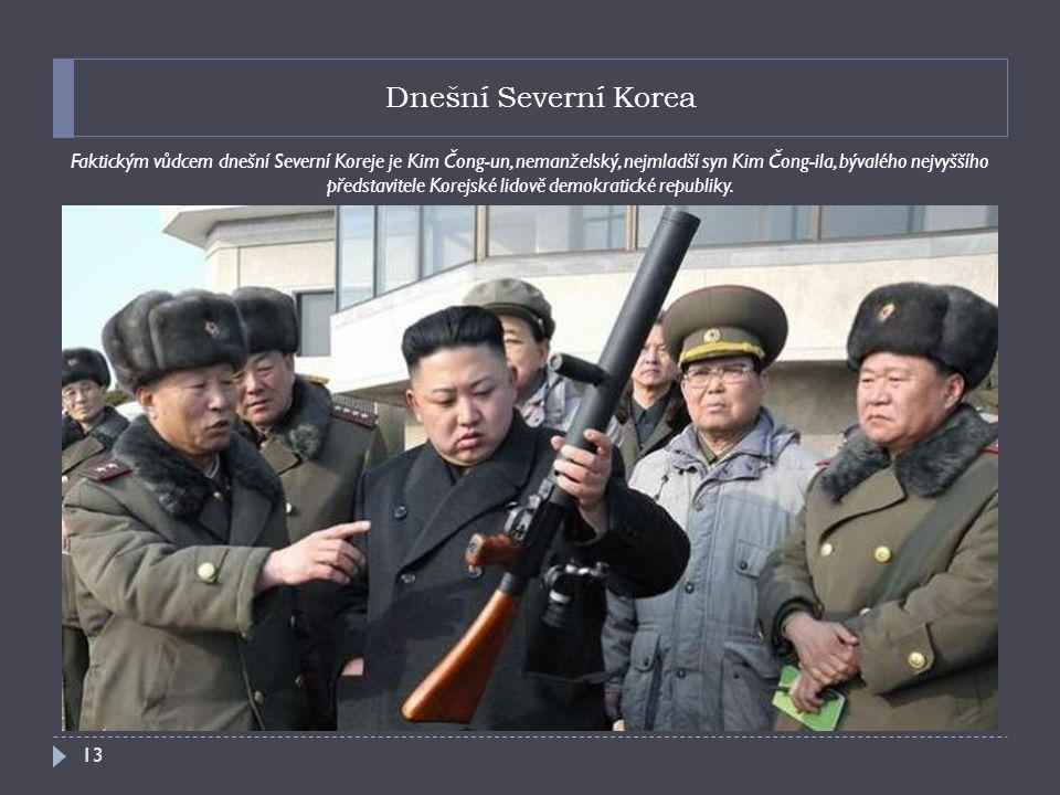 Dnešní Severní Korea