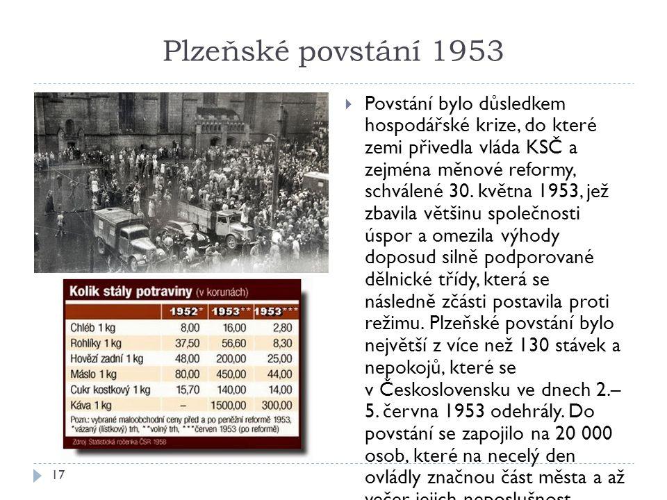 Plzeňské povstání 1953