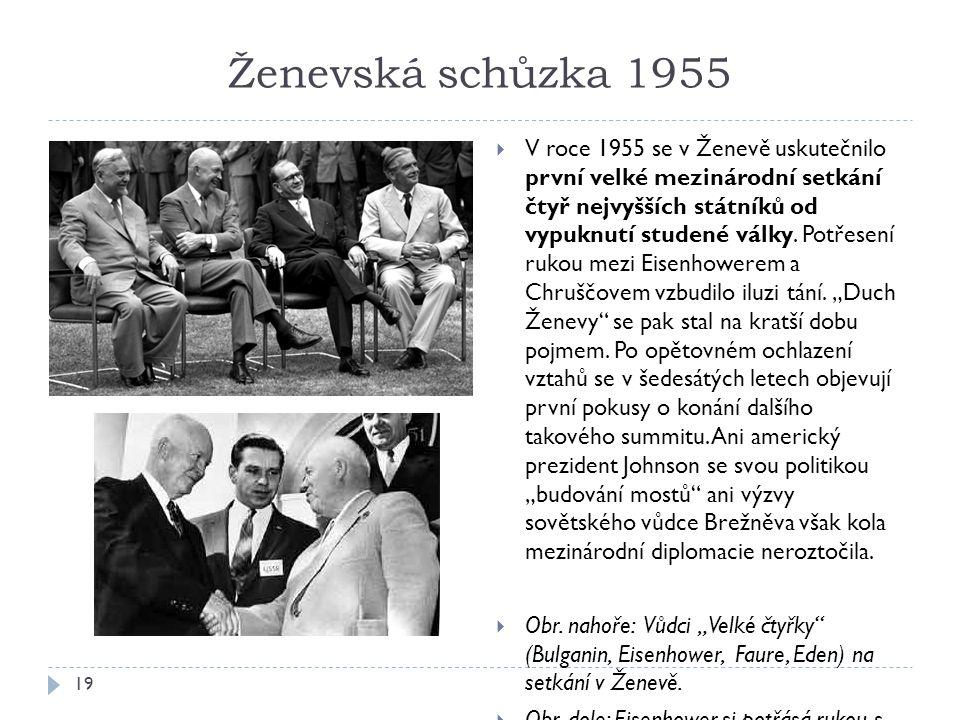 Ženevská schůzka 1955