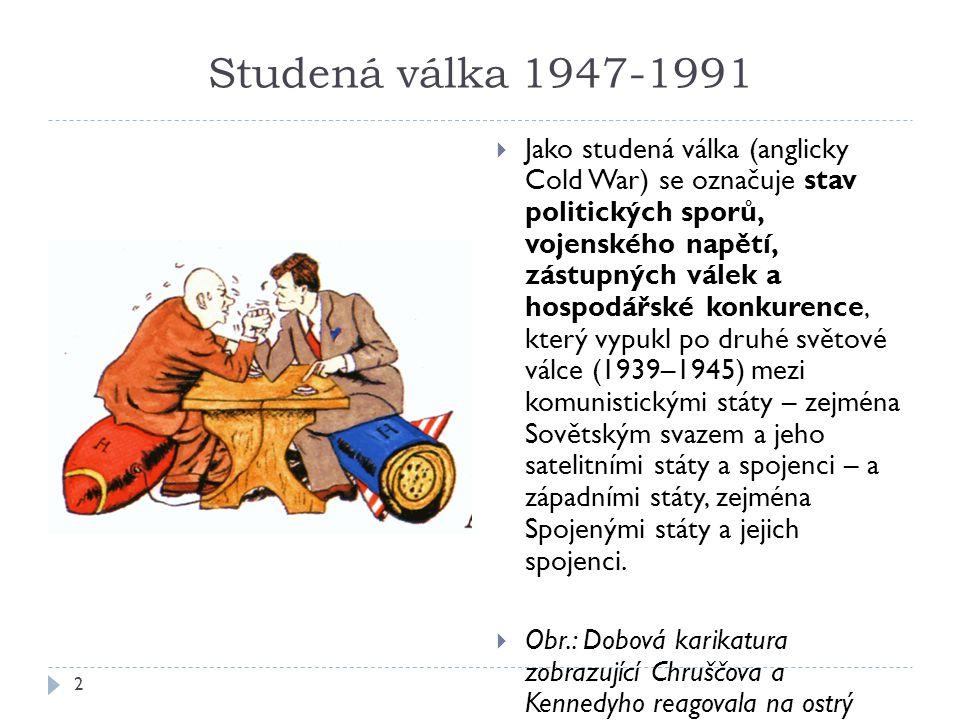 Studená válka 1947-1991