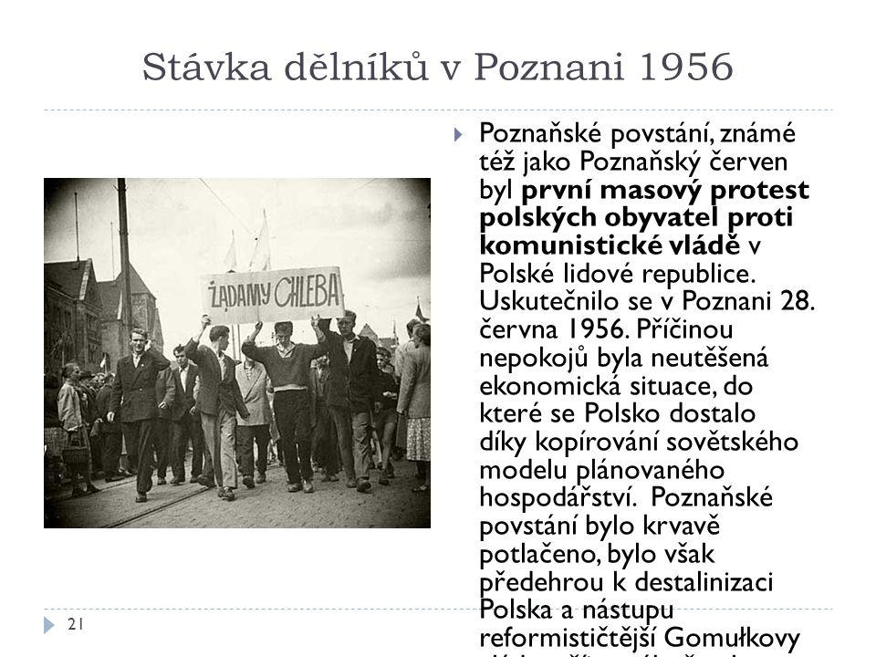 Stávka dělníků v Poznani 1956