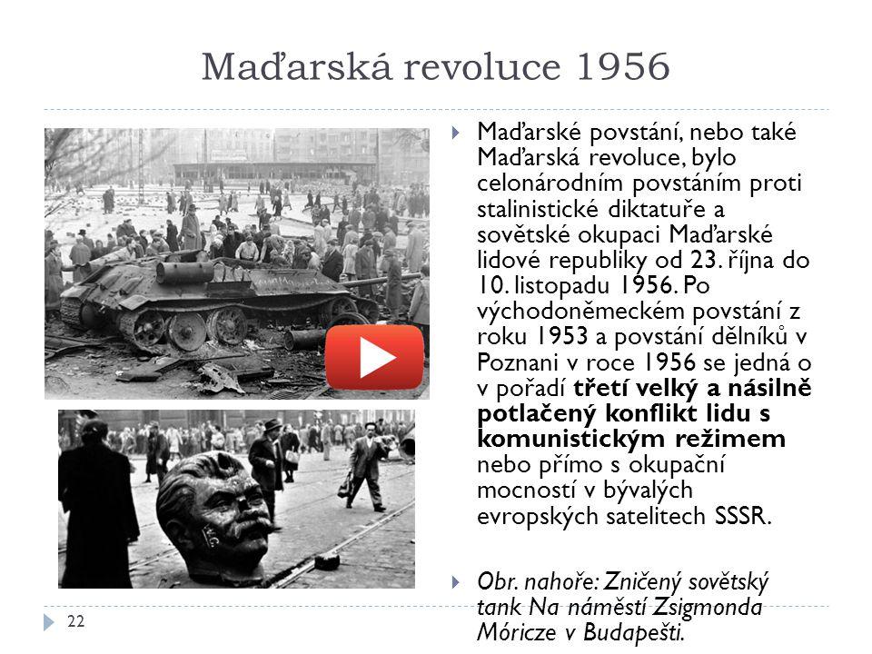 Maďarská revoluce 1956