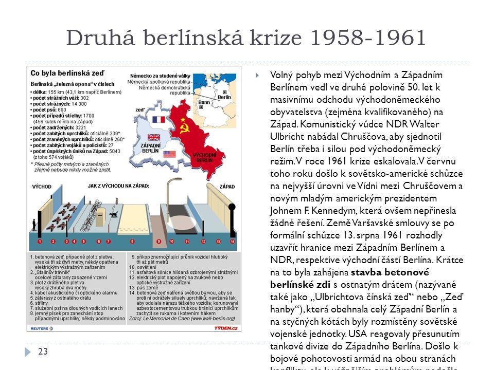 Druhá berlínská krize 1958-1961