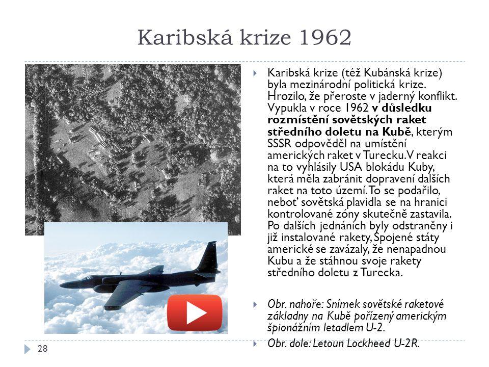 Karibská krize 1962