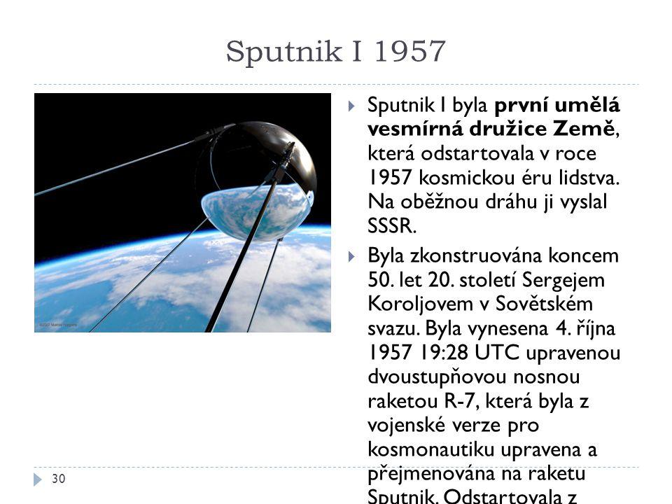 Sputnik I 1957
