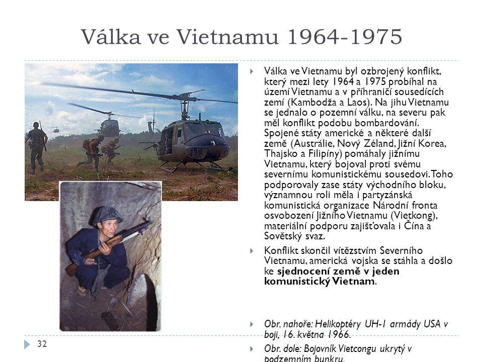 Válka ve Vietnamu 1964-1975
