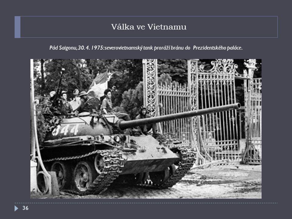 Válka ve Vietnamu Pád Saigonu, 30. 4.