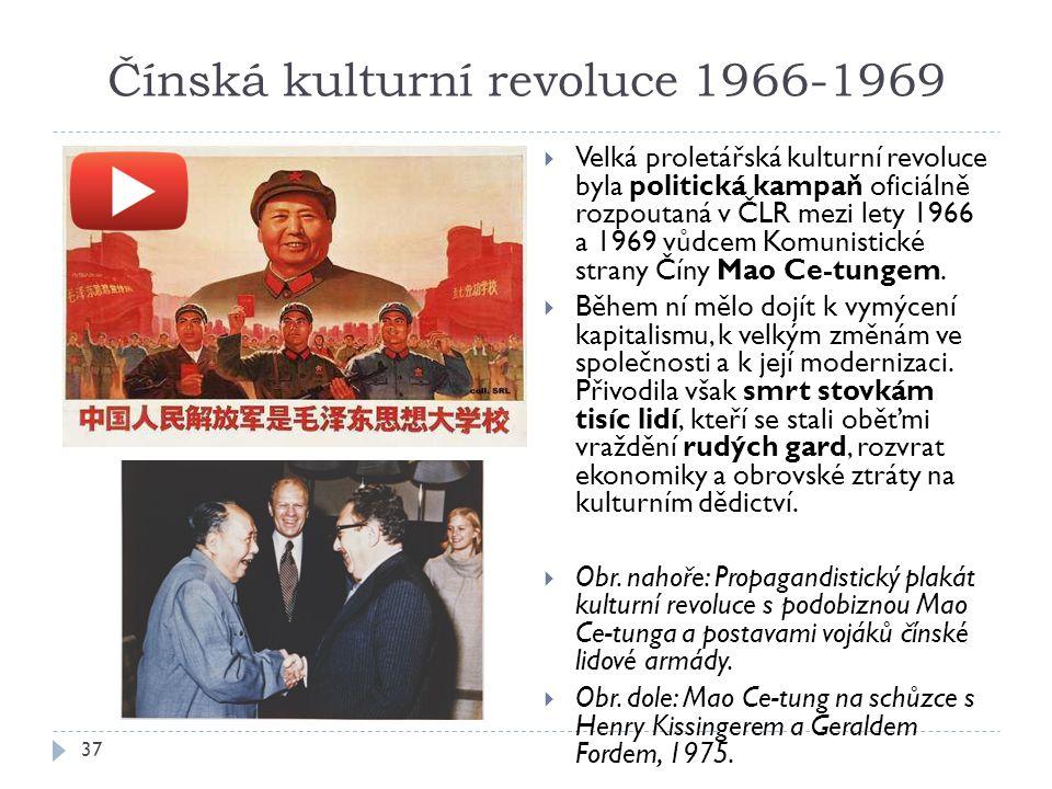 Čínská kulturní revoluce 1966-1969