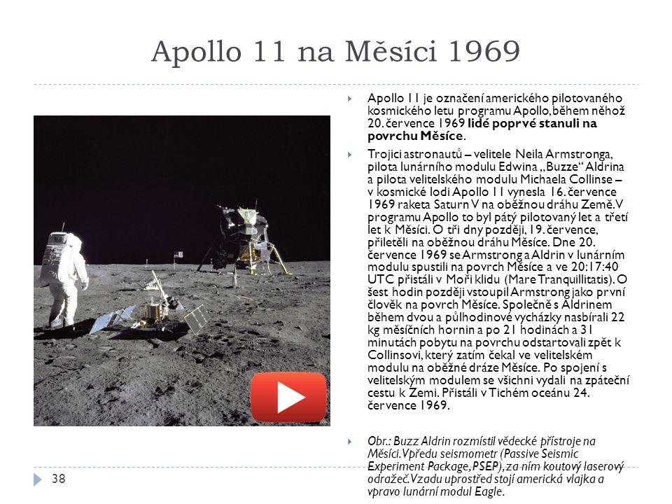 Apollo 11 na Měsíci 1969