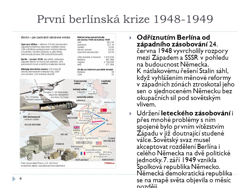 První berlínská krize 1948-1949