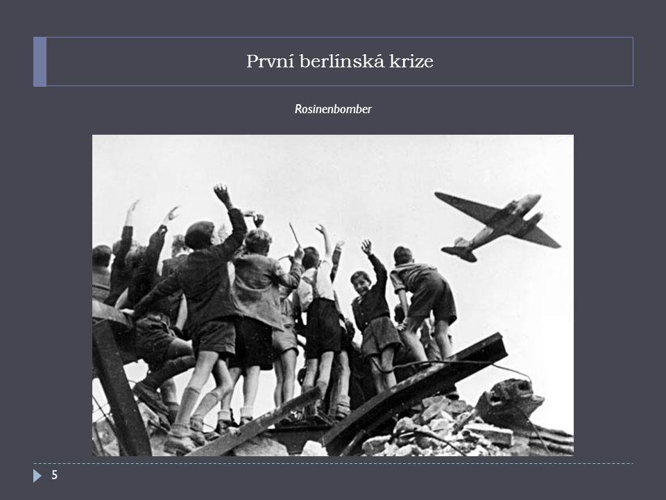První berlínská krize Rosinenbomber