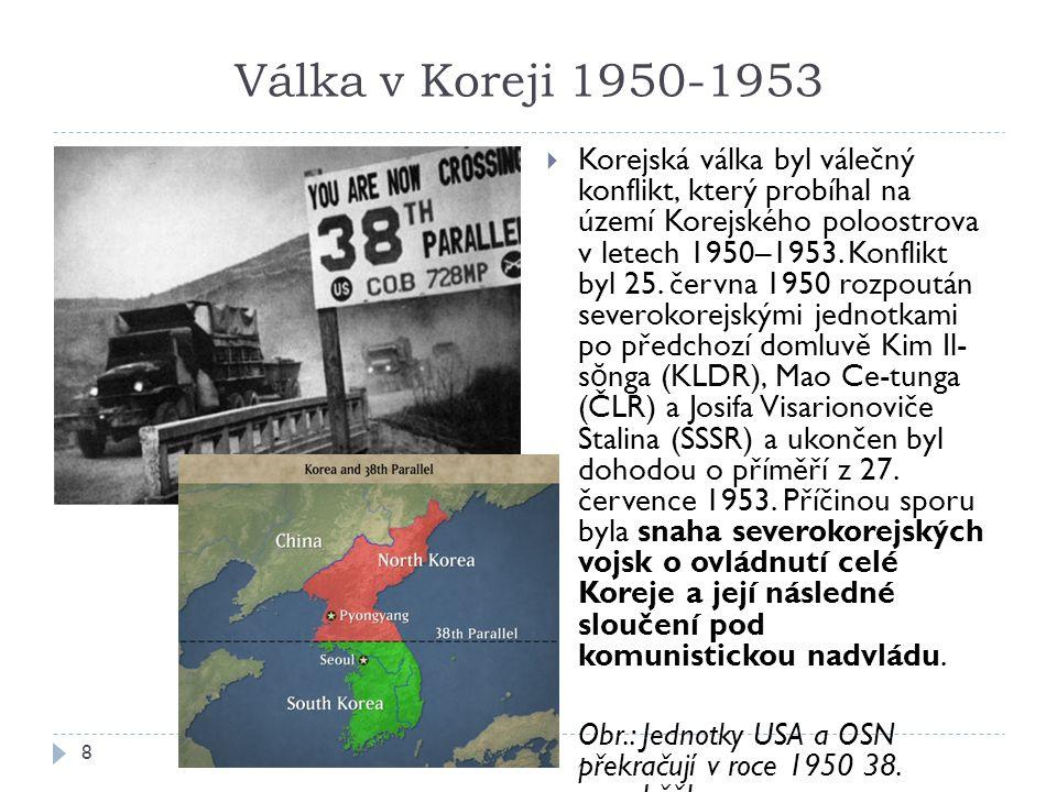 Válka v Koreji 1950-1953