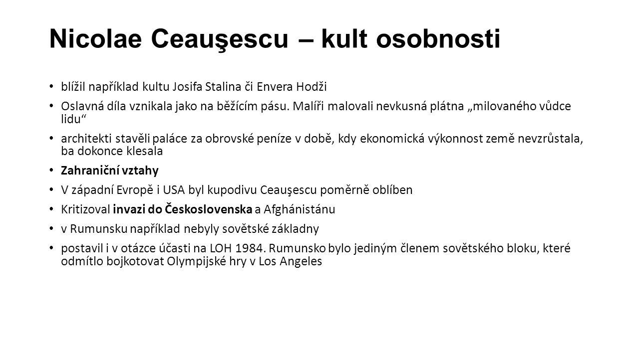Nicolae Ceauşescu – kult osobnosti