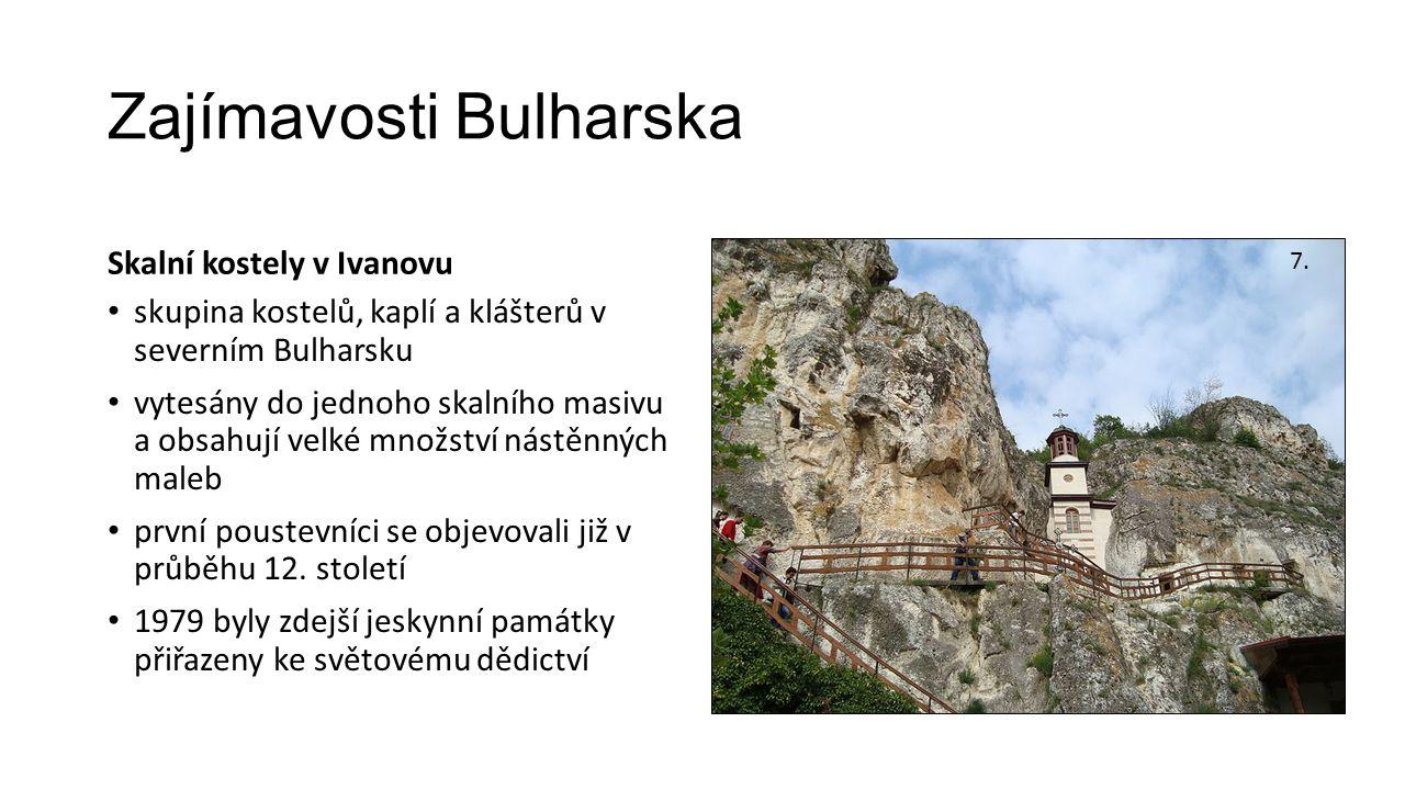 Zajímavosti Bulharska