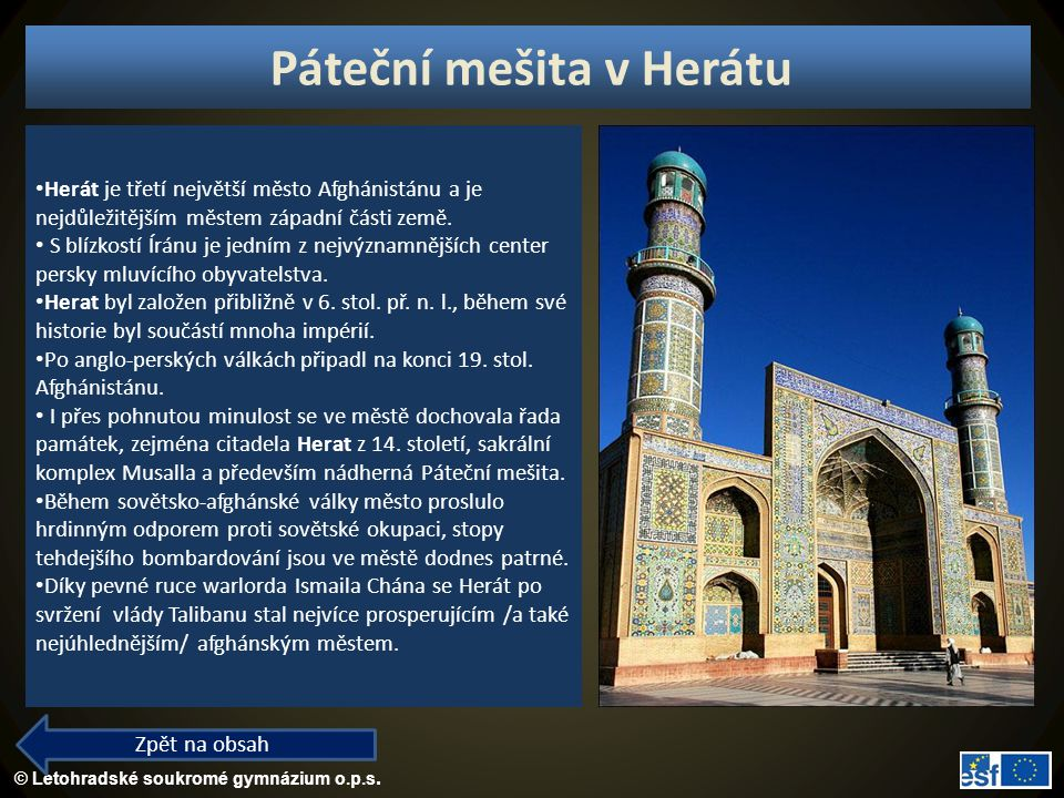 Páteční mešita v Herátu