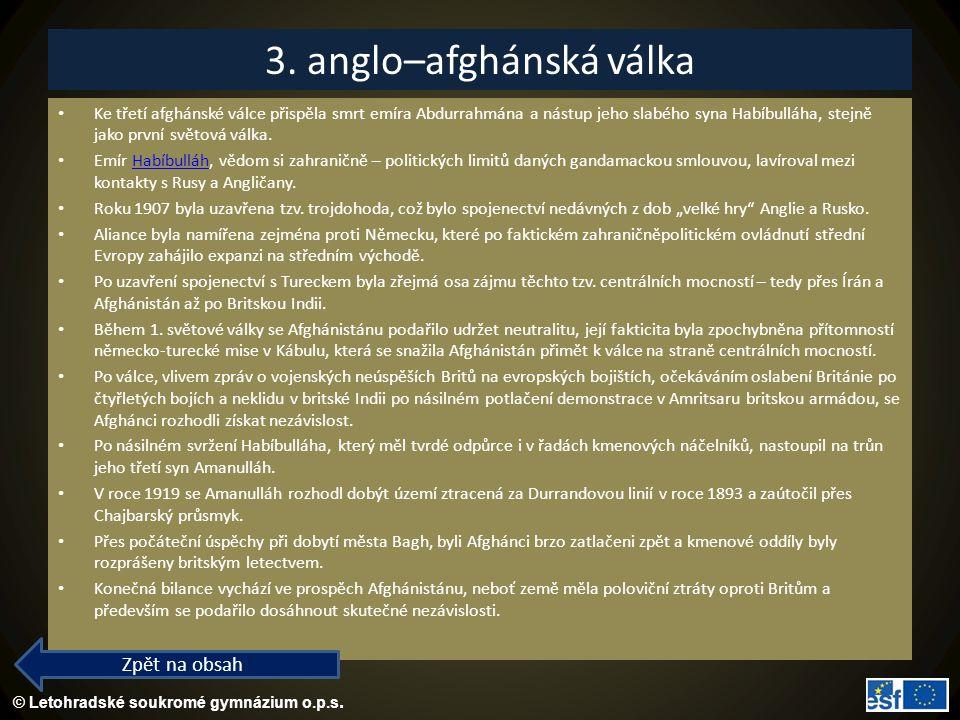 3. anglo–afghánská válka