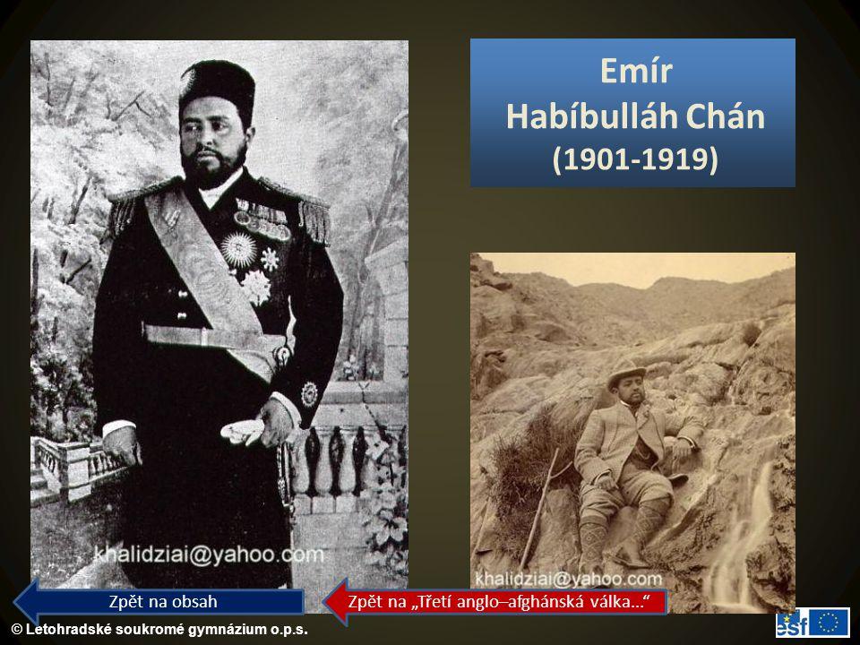 Emír Habíbulláh Chán (1901-1919)