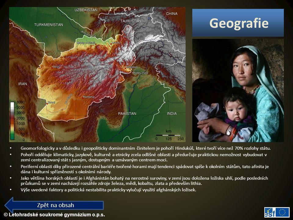 Geografie Zpět na obsah