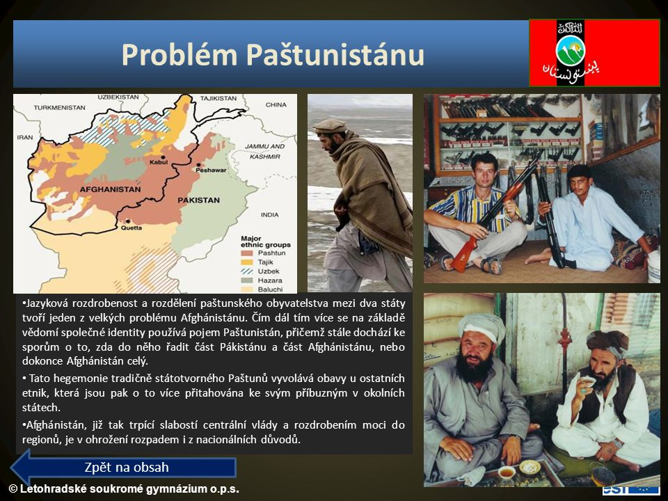 Problém Paštunistánu Zpět na obsah