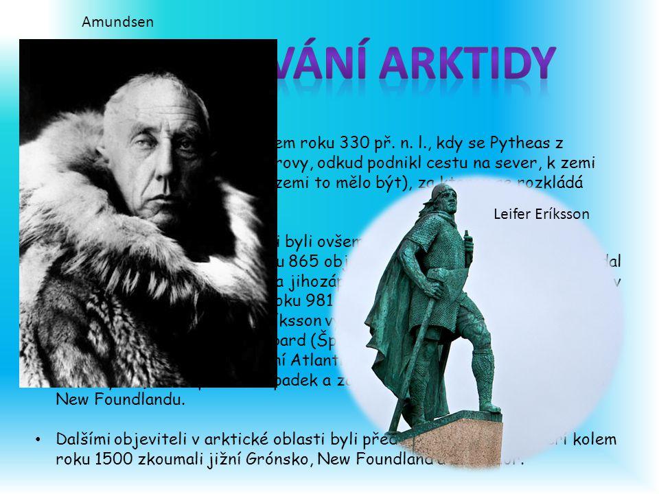 Objevování Arktidy Amundsen