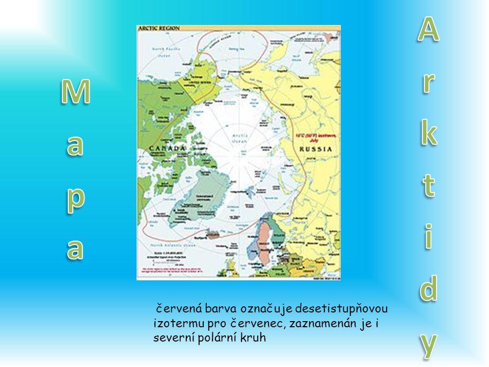 Arktidy Mapa.