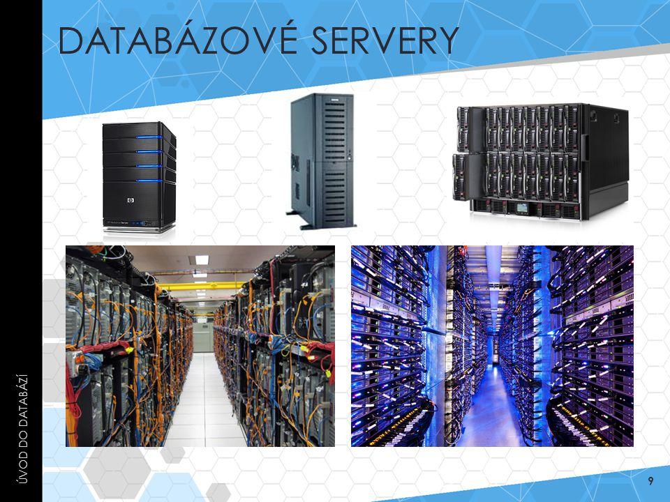 Databázové servery Úvod do databází