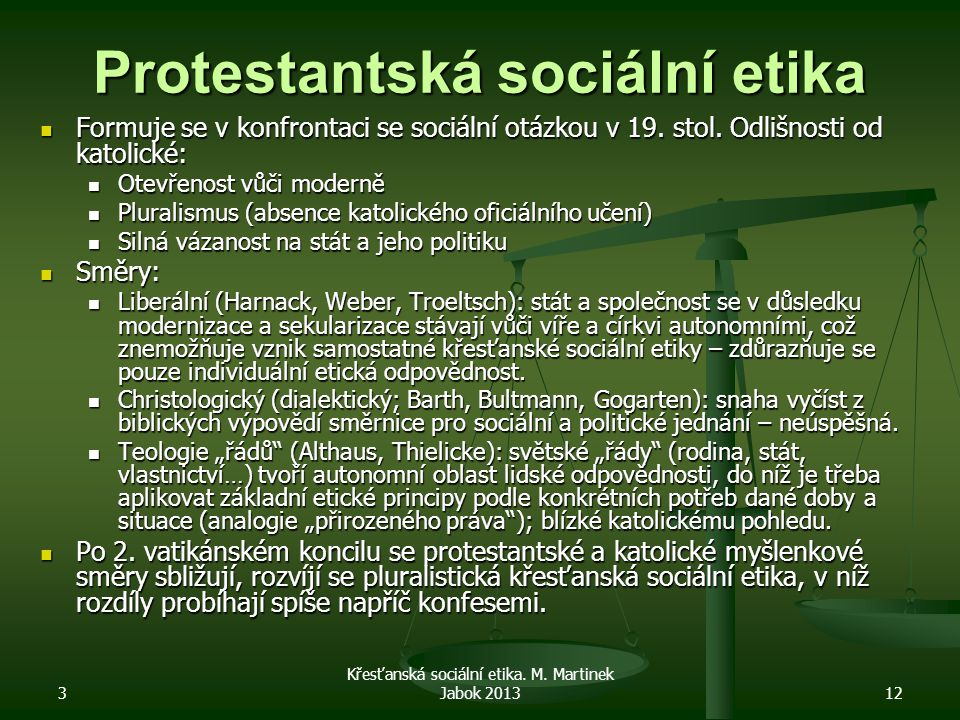 Protestantská sociální etika
