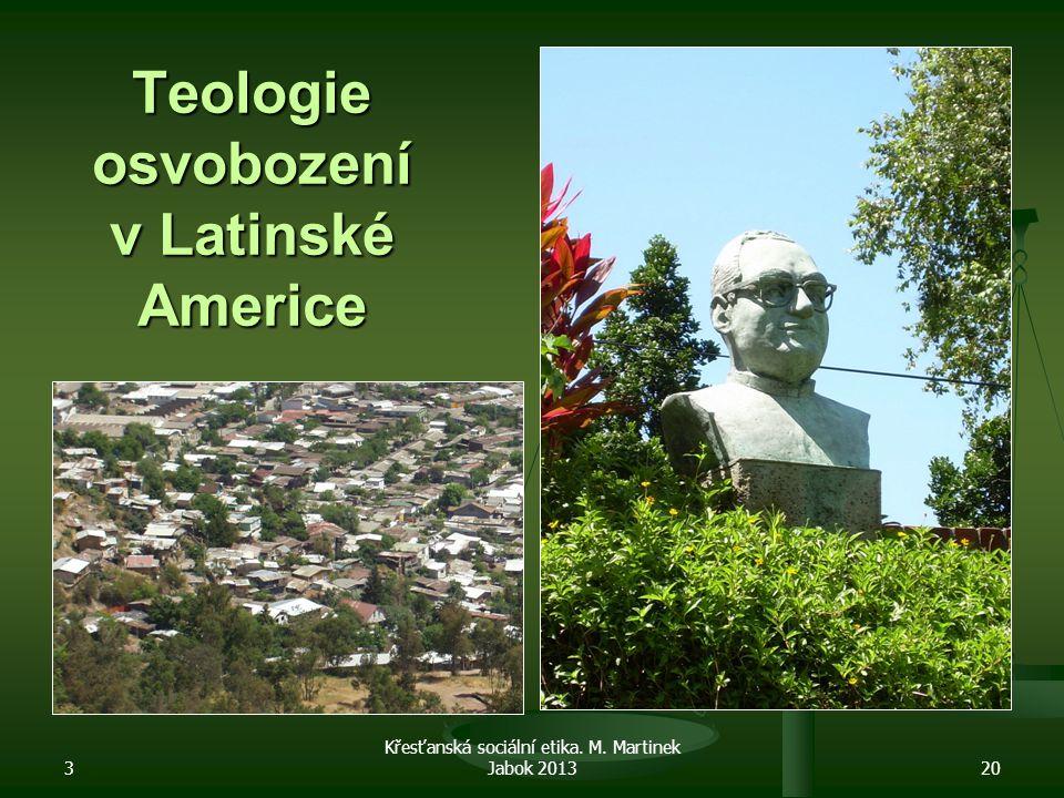 Teologie osvobození v Latinské Americe