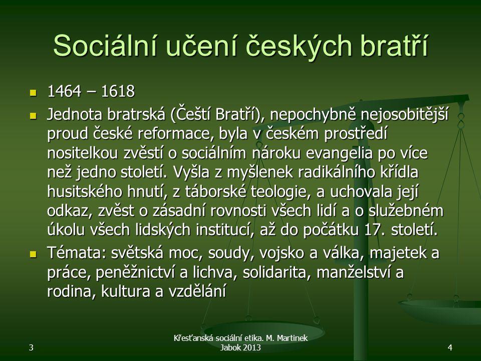 Sociální učení českých bratří