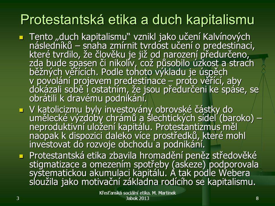 Protestantská etika a duch kapitalismu