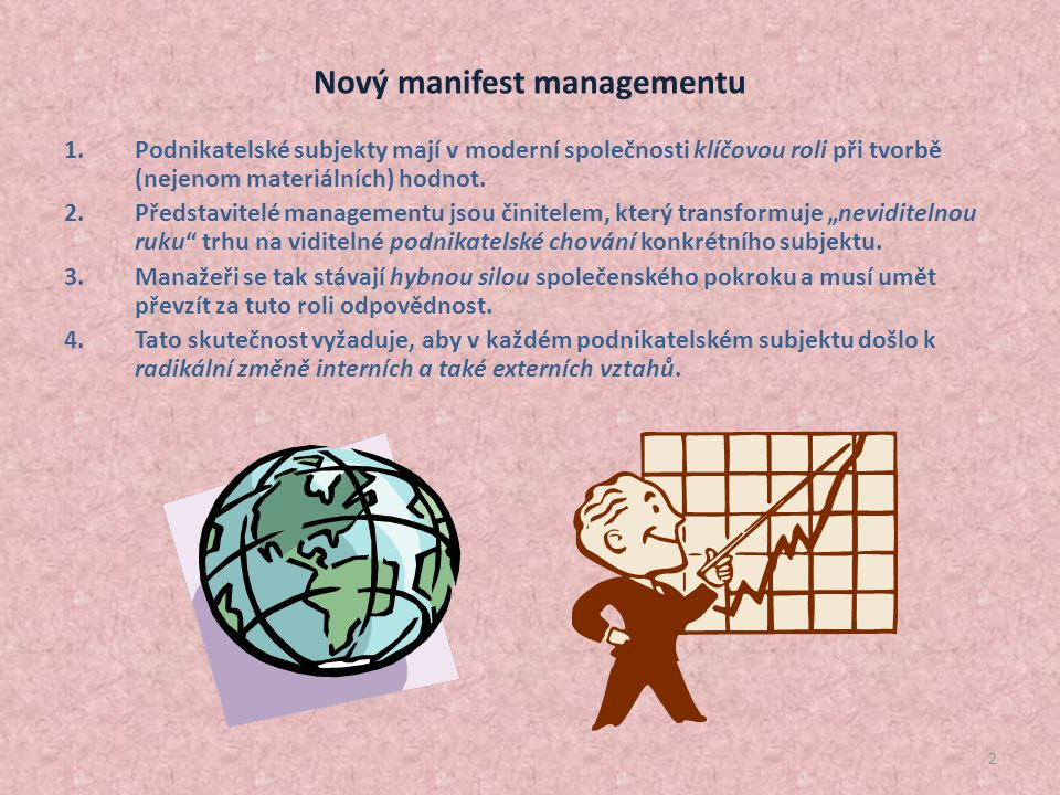 Nový manifest managementu